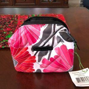 NWT Vera Bradley small puffy cosmetic bag